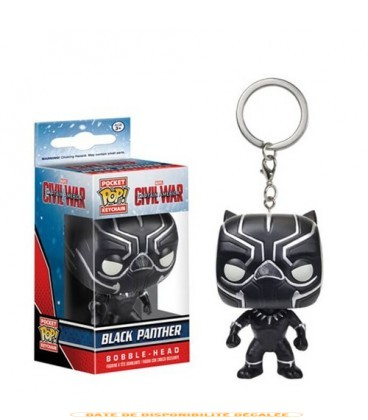 Pocket Pop! Keychain - Black Panther