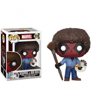 Pop! Deadpool as Bob Ross [319]