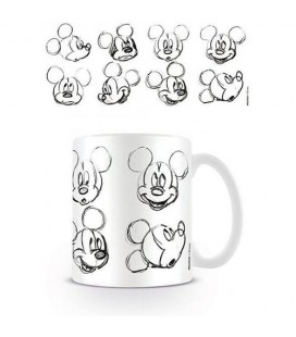 Mug Mickey Mouse Sketch Face