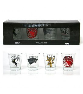 Verres Shooters Game Of Thrones V2