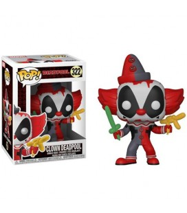 Pop! Clown Deadpool [322]