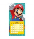 Super Mario Calendrier 2019