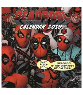 Deadpool Calendrier 2019