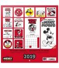 Mickey (90ème anniversaire) Calendrier 2019