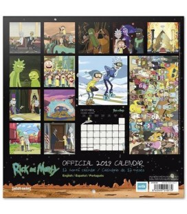 Rick & Morty Calendrier 2019