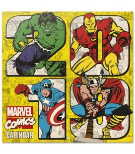 Marvel Comics Calendrier 2019