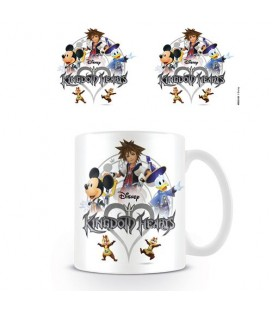 Mug Kingdom Hearts Logo