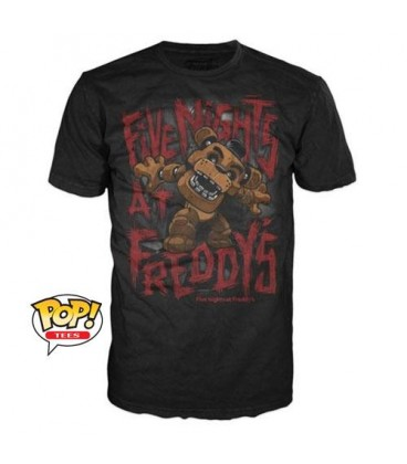 Pop! TShirt - Freddy Fazbear