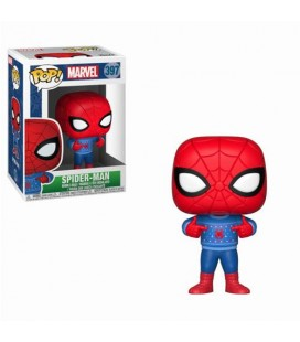 Pop! Spider-Man (Holiday Ugly Sweater) [397]
