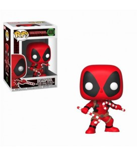 Pop! Deadpool (Holiday Candy Canes) [400]