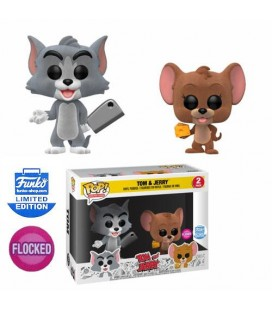 Pop! Tom & Jerry Flocked LE [2-Pack]