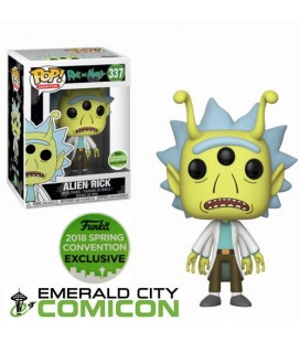 Pop! Alien Rick Spring Convention 2018 LE [333]