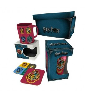 Box Harry Potter Crests Red