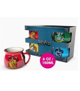 Set 4 mugs Chaudrons