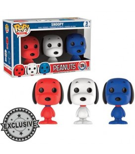 Pop! Snoopy Rock The Vote LE [3-Pack]