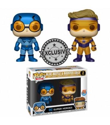 Pop! Blue Beetle & Booster Gold LE [Pack 2]