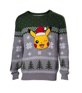 Christmas Sweat Pull de Noêl Pikachu