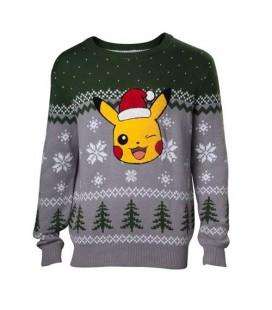 Christmas Sweat Pull de Noêl Pikachu