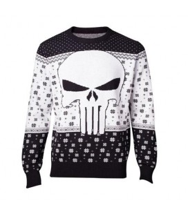 Christmas Sweat Pull de Noêl Punisher