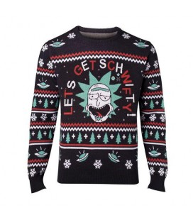 Christmas Sweat Pull de Noêl Get Schwifty