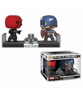 "Pop! Red Skull vs Captain America ""Movie Moments"" [389]"