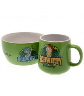 Set Petit Déjeuner Get Schwifty