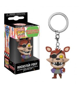 Pocket Pop! Keychain - Rockstar Foxy