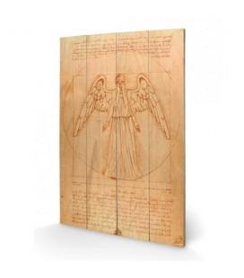 Tableau bois Weeping Angel