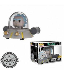 Pop! Rides Rick's Ship Limited Edition [34]