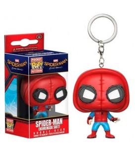 Pocket Pop! Keychain - Spider-Man ( Homemade Suit)