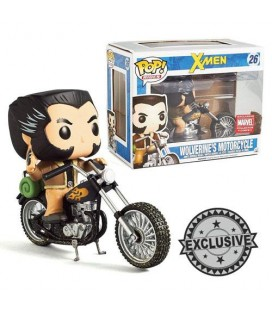 Pop! Rides Wolverine's Motorcycle Limited Edition [26]