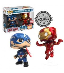 Pop! Pop! Captain America & iron Man Limited Edition [2-Pack]