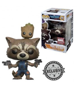 Pop! Rocket & Groot Limited Edition [211]