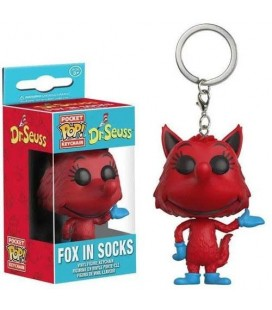 Pocket Pop! Keychain - Fox In Socks