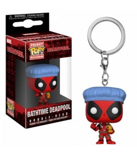 Pocket Pop! Keychain - Bathtime Deadpool