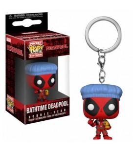 Pocket Pop! Keychain - Bathtime Deadpool