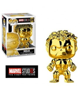 Pop! The Hulk chromée MS 10TH [379]