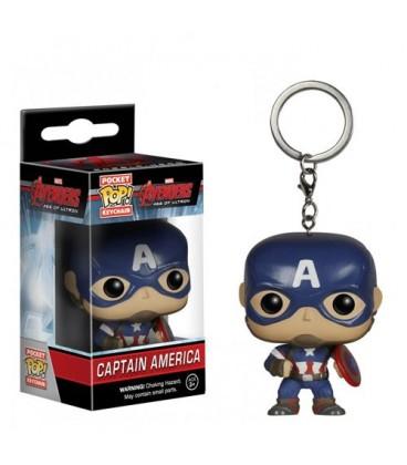 Pocket Pop! Keychain - Captain America