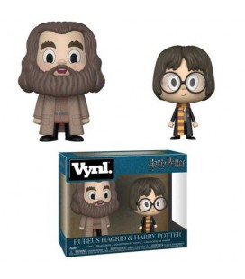Vynl. Rubeus Hagrid et Harry Potter