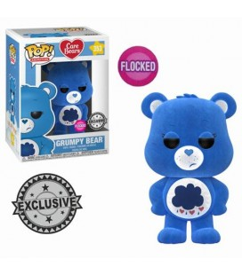 Pop! Grumpy Bear Flocked Limited Edition [353]