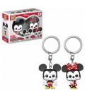 Pocket Pop! Keychain - Mickey & Minnie