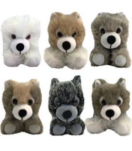 Box Peluches DireWolf Cubs Collector SDCC 2018