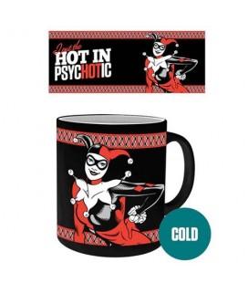 Mug Psychotic Harley Quinn Thermoréactif
