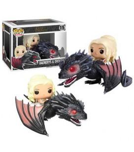 Pop! Rides Daenerys & Drogon [15]