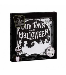 Set de 4 assiettes Funko Our Town Of Halloween
