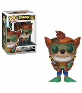 Pop! Crash Bandicoot Scuba Gear [421]