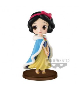 Qposket Snow White Girls Festival Winter Costume 7cm