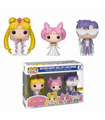 Pop! Neo Queen Serenity&Small Lady&King endymion LE [Pack 3]