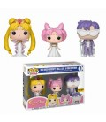 Pop! Sailor Moon - Queen - Lady and King LE [Pack 3]