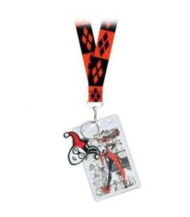 Dragonne avec Porte-clés Harley Quinn
